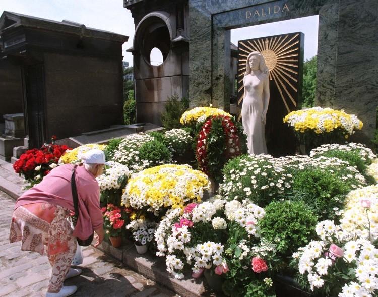 مقبرة داليدا في فرنسا
