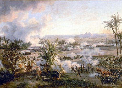 لوحة معركة الأهرام