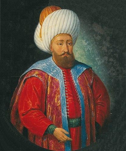 صاعقةُ الإسلام سُلطانُ إقليم الرُّوم الغازي جلالُ الدين يلدرم بايزيد خان الأوَّل بن مُراد بن أورخان العُثماني