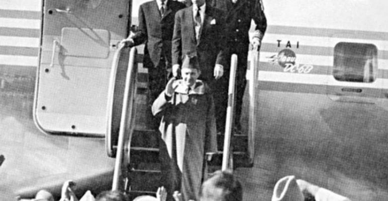 عودة سلطان المغرب محمد الخامس بن يوسف إلى الوطن من المنفى